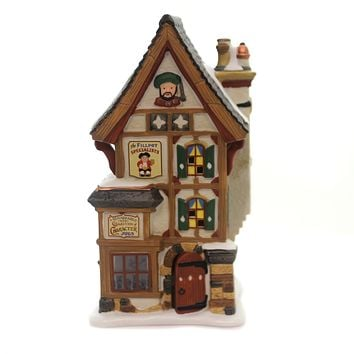 Department 56 House OLDE PEARLY'S TOBY JUGS Dickens' Village Series 6000585