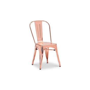 Anita Metal Chair ROSE GOLD - SET OF 2