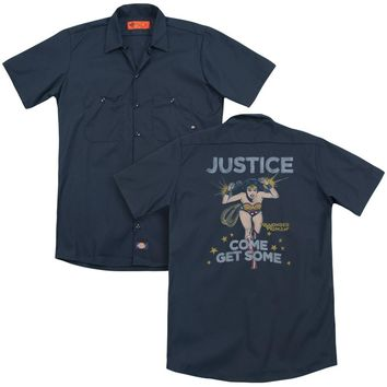 Dc - Get Some(Back Print) Adult Work Shirt