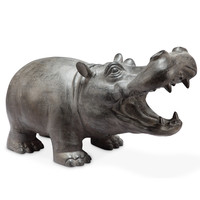 SPI Garden Collection Hippo Basso with BlueTooth Speaker