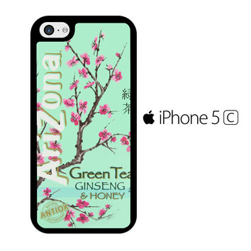 Arizona Green Tea SoftDrink iPhone 5C Case