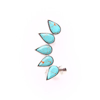Turquoise Butte Ear Cuff