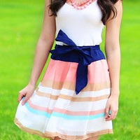 Breezing Down The Boardwalk Dress