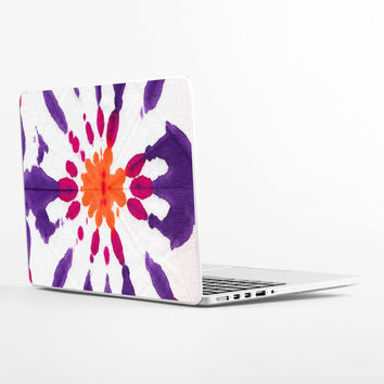 Tie Dyed Daisey Laptop Skin