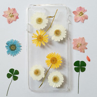 iPhone 5s Case Floral, iPhone 5 Case Clear, Pressed Flower iPhone 5s Case, Clear iPhone 5c Case, iPhone 5s Flower Case,iphone 6s flowercase