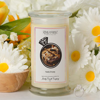 Toasty S'mores Ring Candle