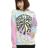 Pierce The Veil Tie Dye Palm Logo Girls Hoodie