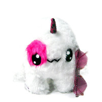 Big Fluse Kawaii Plush Unicorn cute monster white-pink