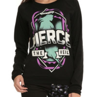 Pierce The Veil Emblem Girls Pullover Top