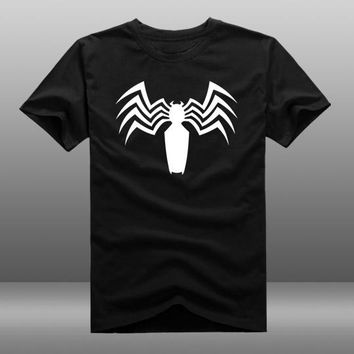 Hot Film Spider Man 2 T-shirt Fashion superhero reflect light T t-shirt Cotton Summer loose Tees tops