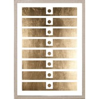 Natural Curiosities for Candelabra Golden Patterns - 2 | Abstract Geometric & Graphic Wall Art | Art | Decor | Candelabra, Inc.