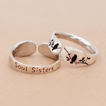 Soul Sisters Relationship Ring
