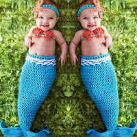 newborn photography props baby Costume  Infant baby photo props Knitting fotografia newborn crochet outfits accessories