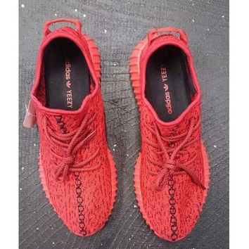 PEAP2 Women Yeezy Boost 'Adidas' Sneakers Running Sports Shoes Red H