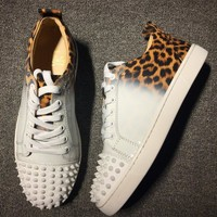 Christian Louboutin CL Style #2024 Sneakers Fashion Shoes Best Deal Online