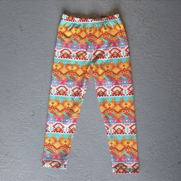 Girl Size Leggings Small to Large