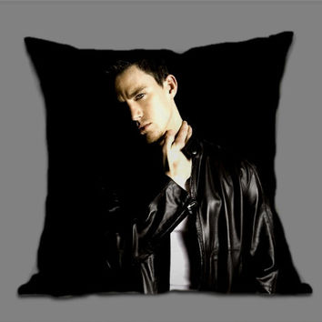 Channing Tatum for Pillow cover by ExmozaDesign
