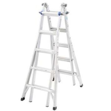 Werner, 22 ft. Aluminum Telescoping Multi-Position Ladder with 250 lb. Load Capacity Type I Duty Rating, MT1-22 at The Home Depot - Mobile