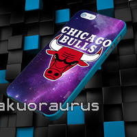 chicago bulls in space galaxy cover case for iPhone 4 4S,5 5C 5 5S,6 6 Plus,Samsung Galaxy s3 s4 s5 Note 3