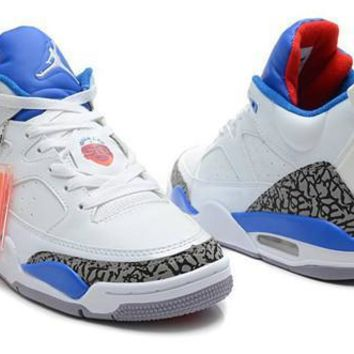 Cheap Air Jordan Son Of Mars Low Shoes White Blue Red