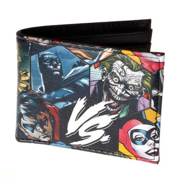 DC Comics Batman Vs. Collage Wallet - Billfold