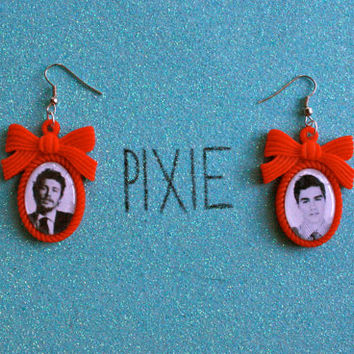 James Franco and Dave Franco cameo earrings