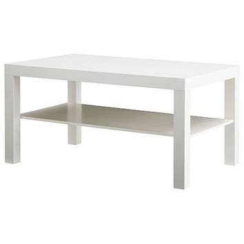Modern Coffee Table in White Finish