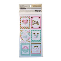 Uptown Chic Frame Label Stickers By Recollections™