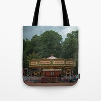 Carrousel  Tote Bag by Errne