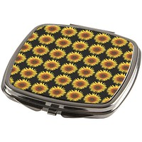 Sunflower Pattern Compact