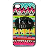 Hakuna Matata Iphone 4 or 5 Case (choose one design)