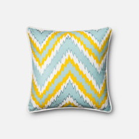 Loloi Yellow Decorative Throw Pillow (P0275)