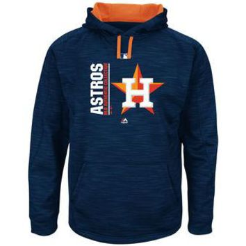 Houston Astros Majestic MLB Navy Ultra Streak Pullover Hoodie
