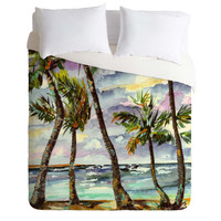 Ginette Fine Art Bahamas Breeze Duvet Cover