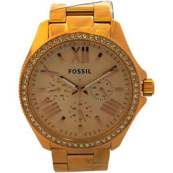 Fossil - AM4483P Cecile Multifunction Rose-Tone Stainless