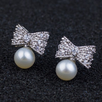 Pearls 925 Silver Stylish Earring Accessory [7204784071]