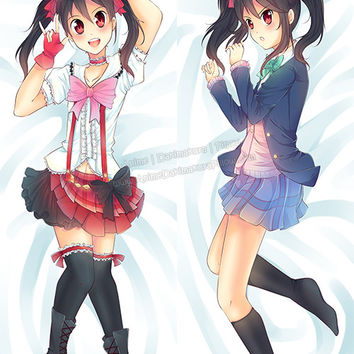 New Nico Yazawa - Love Live Anime Dakimakura Japanese Pillow Cover Custom Designer Akareed ADC339