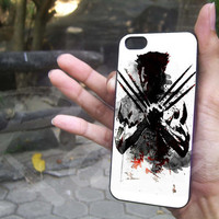 The Wolverine for iphone 4/4s, iphone 5/5s/5c, samsung s3/s4 case cover in mullticase