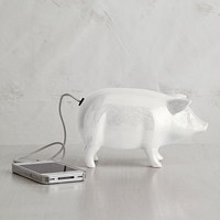 Ceramic Pig Speaker | west elm