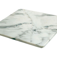 Marble Pastry Slab, White, Cooking Prep Tools