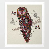 HATKEE Collaboration by Kyle Naylor and Kris Tate Art Print by Kyle Naylor