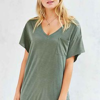 BDG Duffy Dolman-Sleeve Tee Dress