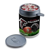 Picnic Time Atlanta Falcons Can Cooler (Grey)