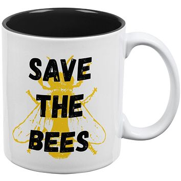 Honey Bee Save the Bees All Over Coffee Mug