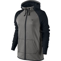 Nike All-Time Full-Zip Workout Hoodie - Women's, Size: