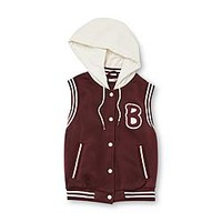 Bongo Junior's Sleeveless Varsity Jacket