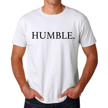 Humble. Rap Song Title Men's T-shirt