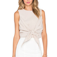 ASILIO Fatal Fortune Crop Top in Nude