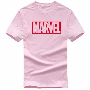 Skateboard Skater t-Shirt 2017 new Marvel men T-shirt Sweatshirt Men Pink s Male Cotton T-shirt Sweat clothing AT_45_3