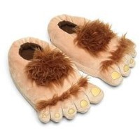 Cool Stuff - Think Geek Furry Adventure Slippers